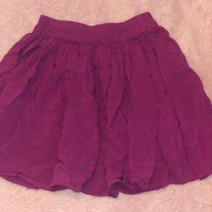 Purple Girls Skirt